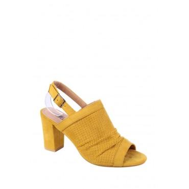 sandali appuntati gialli
