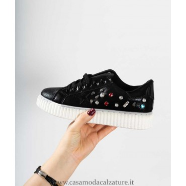 snearkers nero strass