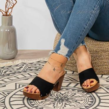 zoccoli legno  6 cm